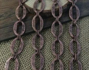 1m Antique  Necklace Chain For Jewelry making
