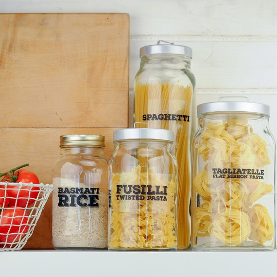 Really Useful Pantry Labels: Pasta, Noodles and Rice