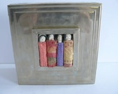 Unique Jewelry or Trinket Box Arte By Design,Metal, Voo Doo Like Dolls, Bedroom Decor