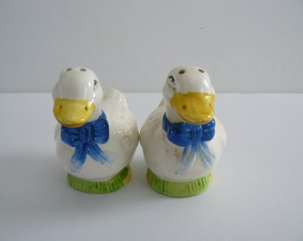 Duck Salt and Pepper Shakers