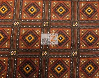 """Southwest Village By David Textiles Flannel Fabric 44"""" Width Sold By The Yard - FH"""