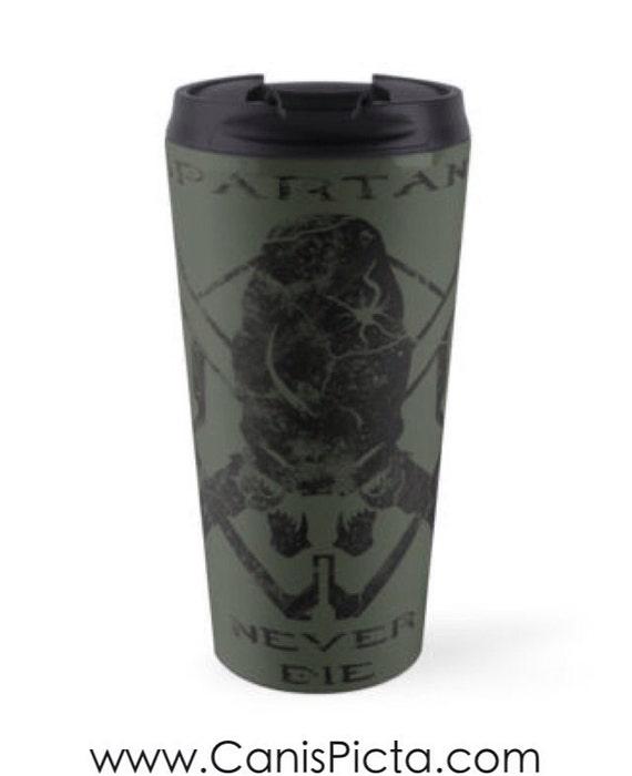 Skull Coffee Travel Mug