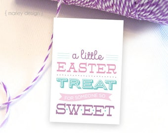 Easter tags printable easter favor tags easter gift tags happy easter treat tags printable easter tags easter gift tags easter party favors easter favors neighbor gifts negle Images