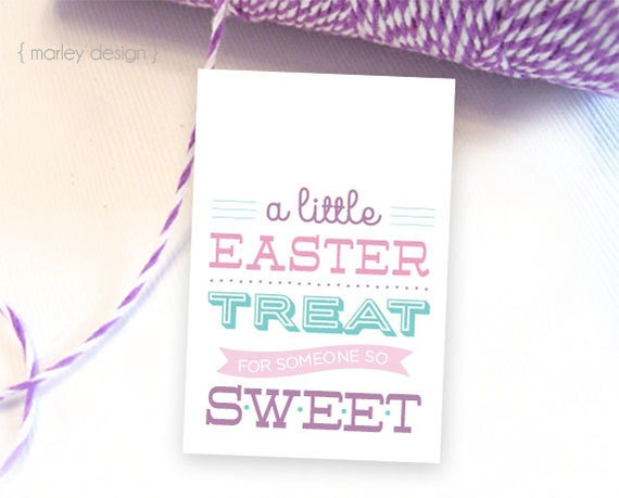 Easter tags printable easter favor tags easter gift tags instant il570xn negle Image collections
