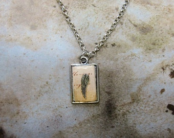 Feather necklace gift ideas for her romantic Jane Austin Pride and Prejudice