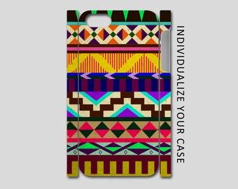 Aztec Tribal iPhone Case, Aztec iPhone Case, Aztec Tribal Flowers Galaxy Case, iPhone 6, iPhone 5, iPhone 4, Galaxy S4, Galaxy S5, Galaxy S6