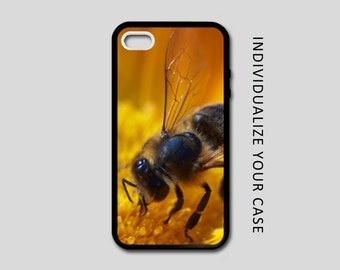 Honey Bee iPhone Case, Bee iPhone Case, Honey Bee Samsung Galaxy Case, iPhone 6, iPhone 5, iPhone 4, Galaxy S4, Galaxy S5, Galaxy S6