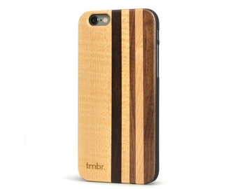 Wood iPhone 6 Case, Real Wooden iPhone 6 Case, Free USA Shipping - MXMP6