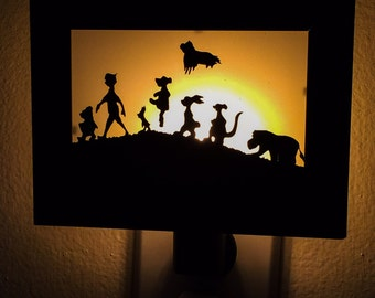Winnie the Pooh inspired Night Light