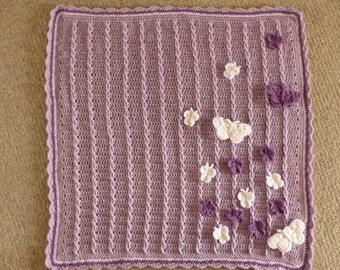 Abigail's Butterfly Blanket Crochet Pattern
