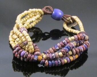 Purple Twist Bracelet