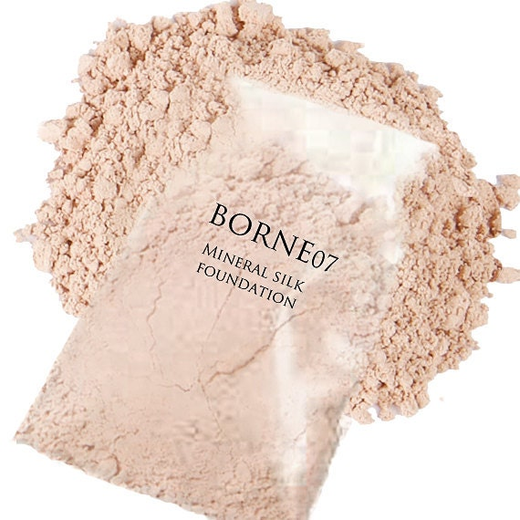 Mineral Makeup Foundation (30 Gram Refill) - Organic Silk Mineral Foundation - NEW SHADES