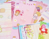 Set of 40 Assorted Kawaii Memo Sheets