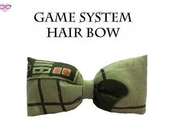Gamers System Hair Bow
