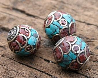 Handmade Nepalese beads