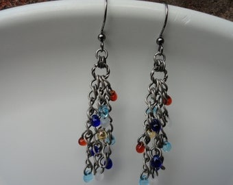 Viking Small Beads on 3 Chains - #153