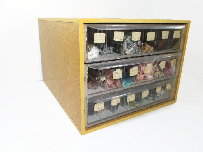 Dmc Floss Display Case Embroidery Thread Store Display