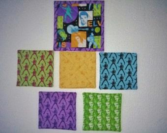 ELVIS PRESLEY Mug Mat and  4 COASTERS  1 Free  Extra Equals 5 coasters  handmade