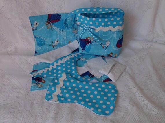 Frozen Sisters Print Doll Diaper Bag Set Includes Bag