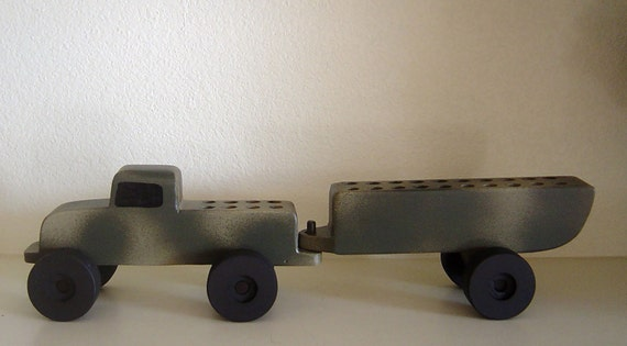 Toy Car Holder Truck : Toy truck wooden crayon holder by devicci