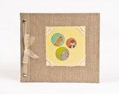 Baby Book - Baby Memory Book - Neutral, Unisex, Jungle, Baby Album - Jungle Baby Memory Book - Hugs and Kisses XO Baby Memory Book