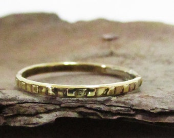 Delicate gold ring, 14 carat, delicate and unique ring, handmade, designed ring, solid gold.
