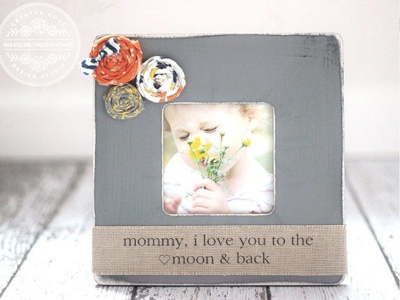 Gift for mom mother wife personalized picture frame mommy
