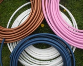 """HDPE Hula Hoop, Push button collapsible, custom size 25-42"""" OD"""