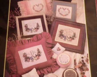 Endearments for special occassions cross stitch book