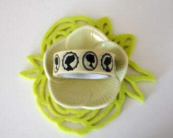 Lady Silhouette Washi Tape