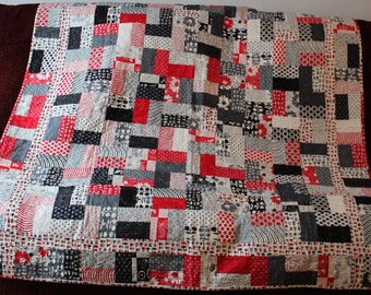 Weeds Jolly Jelly Roll Quilt