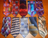 Jerry Garcia Ties - Collection of 10