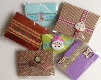 Hand-Crafted Gift Card Holders