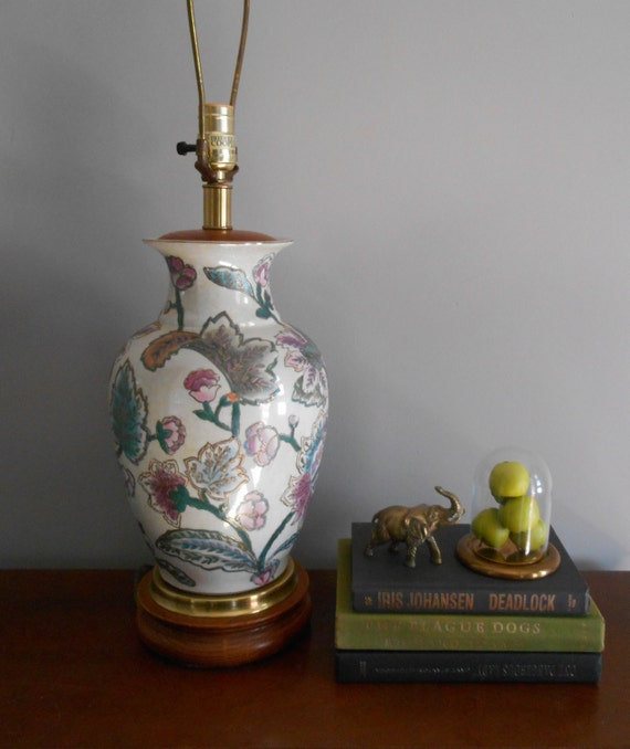 Vintage Frederick Cooper Table Lamphollywood Regency