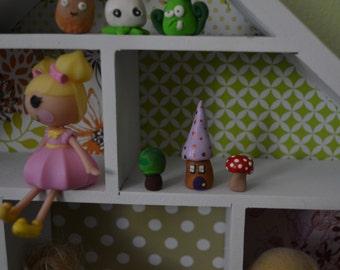 Small Kit micro miniature fairy house