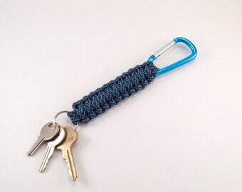 Paracord Utility Key Fob- Spiral Key Chain- Key Chain- Paracord Key Fob- Paracord Key Chain- Key Fob- Paracord Lanyard