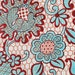 Antique Carpet Design  c. early 1900s  15 x 16 inches