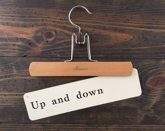 vintage flash card • Up and down | Dick and Jane | Alice and Jerry flashcard