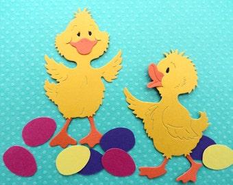 Ducks and Eggs Die Cuts