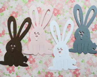 Easter Bunny Die Cuts Set of 10