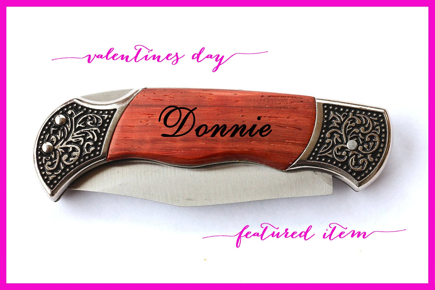 Valentines day gifts for him personalized knife men