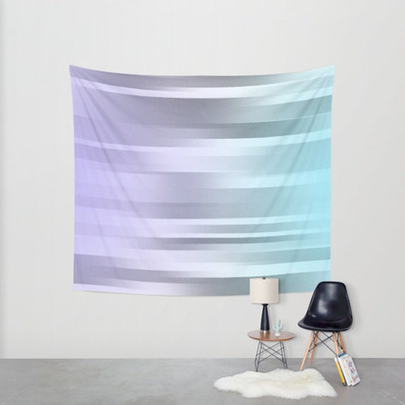 blue gray purple hanging tapestry wall tapestry motion. Black Bedroom Furniture Sets. Home Design Ideas