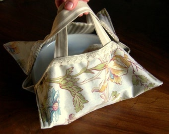 Food Bag for Cakes, Pastries, Picnic, Garden Parties, Outdoor living,