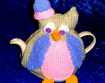 Novelty Tea Cosy Knitting Patterns : novelty tea cozy on Etsy, a global handmade and vintage marketplace.