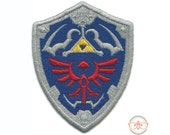 "Legend of Zelda ""Hylian Sheild"" Inspired - Iron-on Patch"