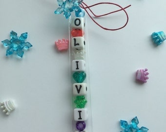 Snowflake Birthday Inspired Make Your Own Bracelet Kid's Birthday Party Favor
