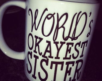 World's Okayest Mug