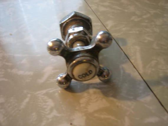 Antique Vintage Cold Water Faucet Part