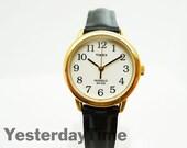 Timex Indiglo 1990 Ladies Watch Quartz Movement White Face