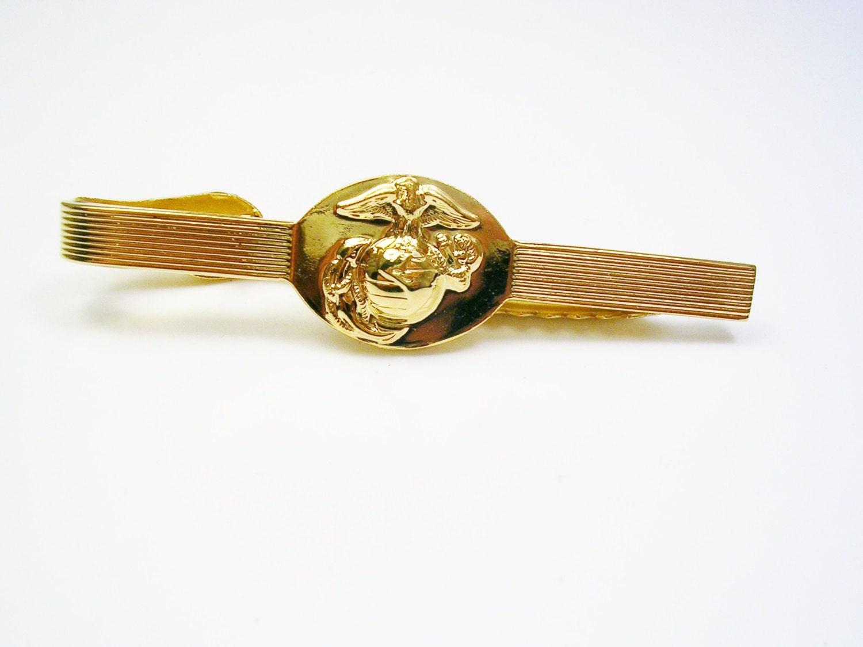 USMC Tie Clip / Marine Corps / Tie Bar / Tie Clasp Tie
